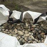 Sand og stein